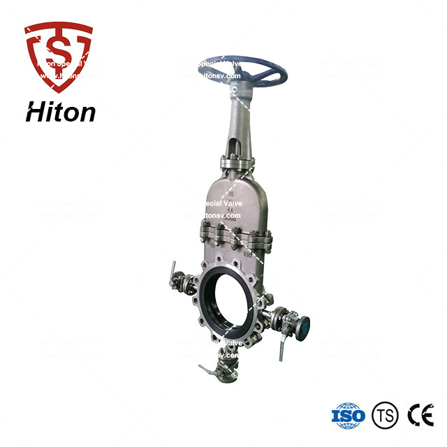 Manual Stainless Bonneted Knife Valve