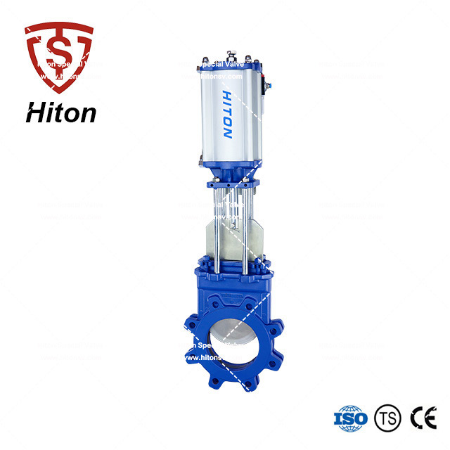 Pneumatic Bidirectional Knife Gate Valve