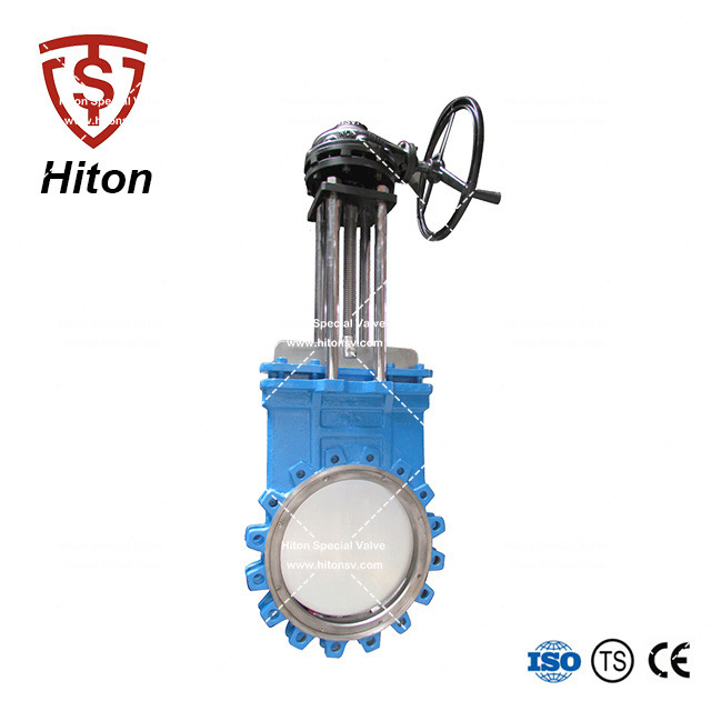 Lugged Knife Edge Gate Valve