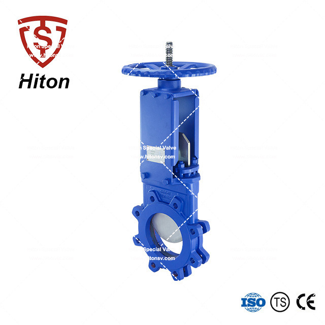 Manual Bidirectional Knife Edge Valve