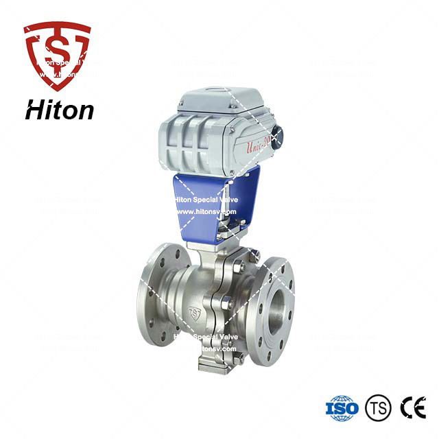 Electric Trunnion Ball Valve