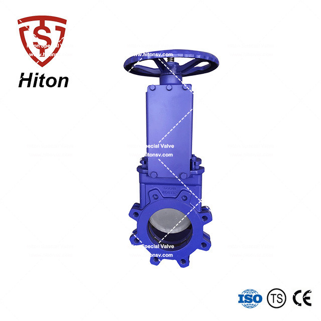 Cast Iron Bidirectional Knife Valve