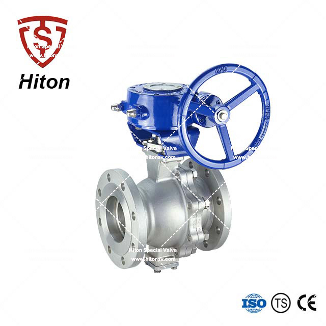 Manual Trunnion Ball Valve