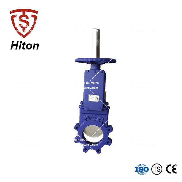 Bidirectional Knife Edge Gate Valve
