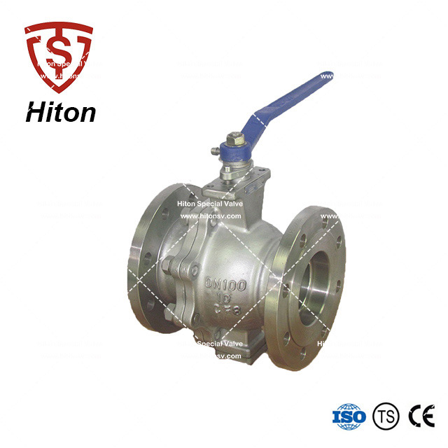 Metal Seat Trunnion Ball Valve