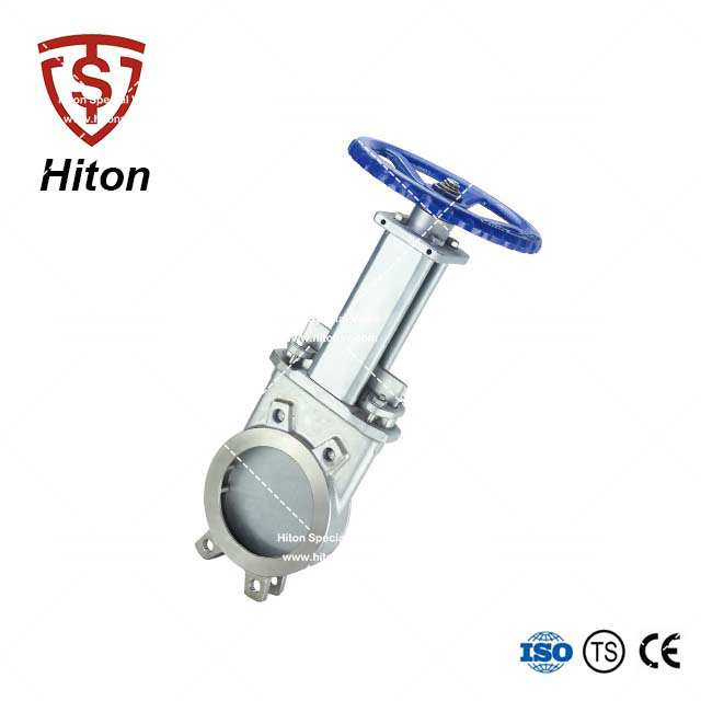 Flange-less Knife Edge Gate Valve