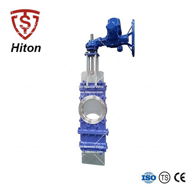 Electric Through Conduit Knife Gate Valve