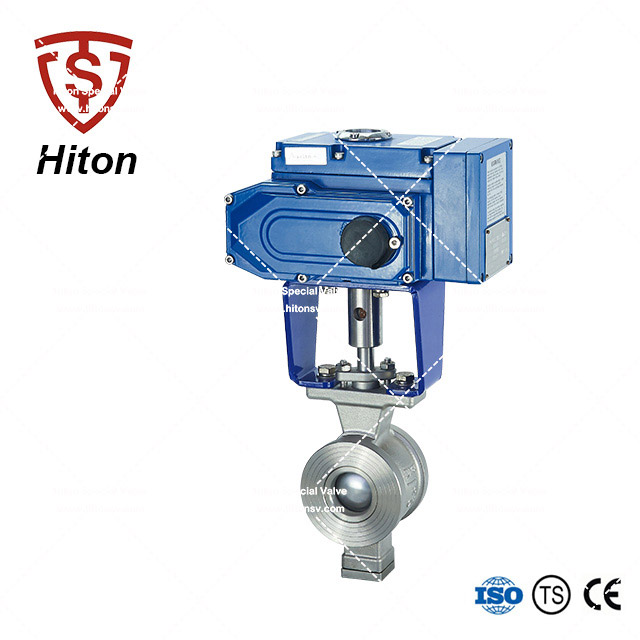 Electric Segment Ball Control Valve