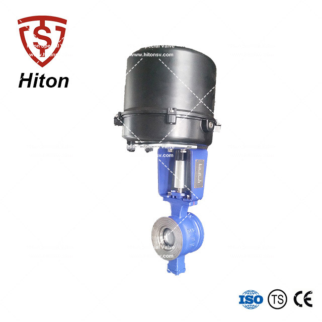 ANSI V notch Ball Valve