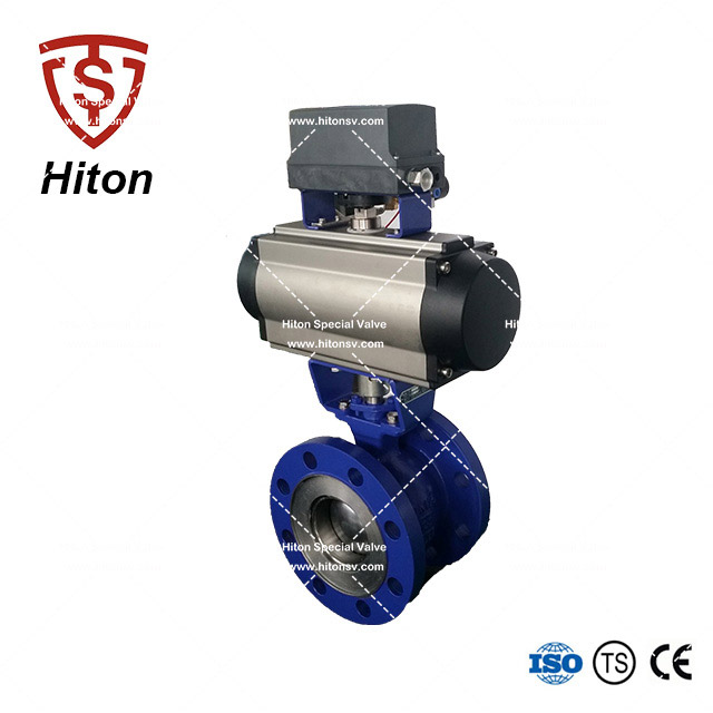 Electric V notch Ball Valve