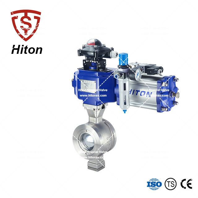 Stainless V port Ball Valve