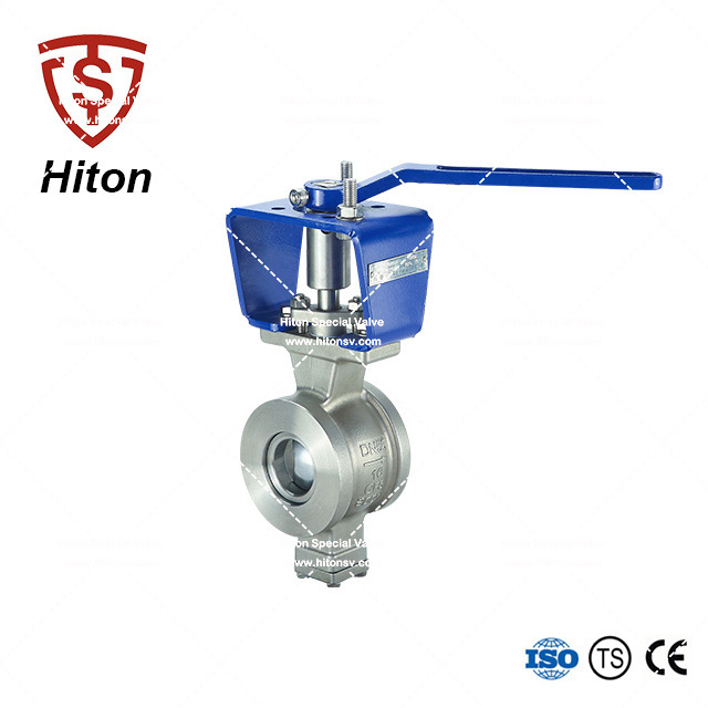 Wafer V port Ball Valve